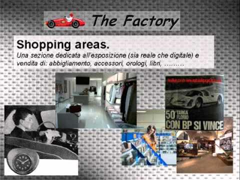 The factory; concept store dedicato al mondo delle auto e moto storiche.