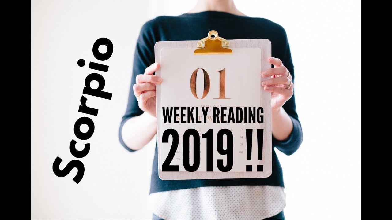 scorpio weekly tarot december 6 2019
