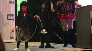 Child Gogo Yubari Kill Bill cosplay 2017 LBCE contest