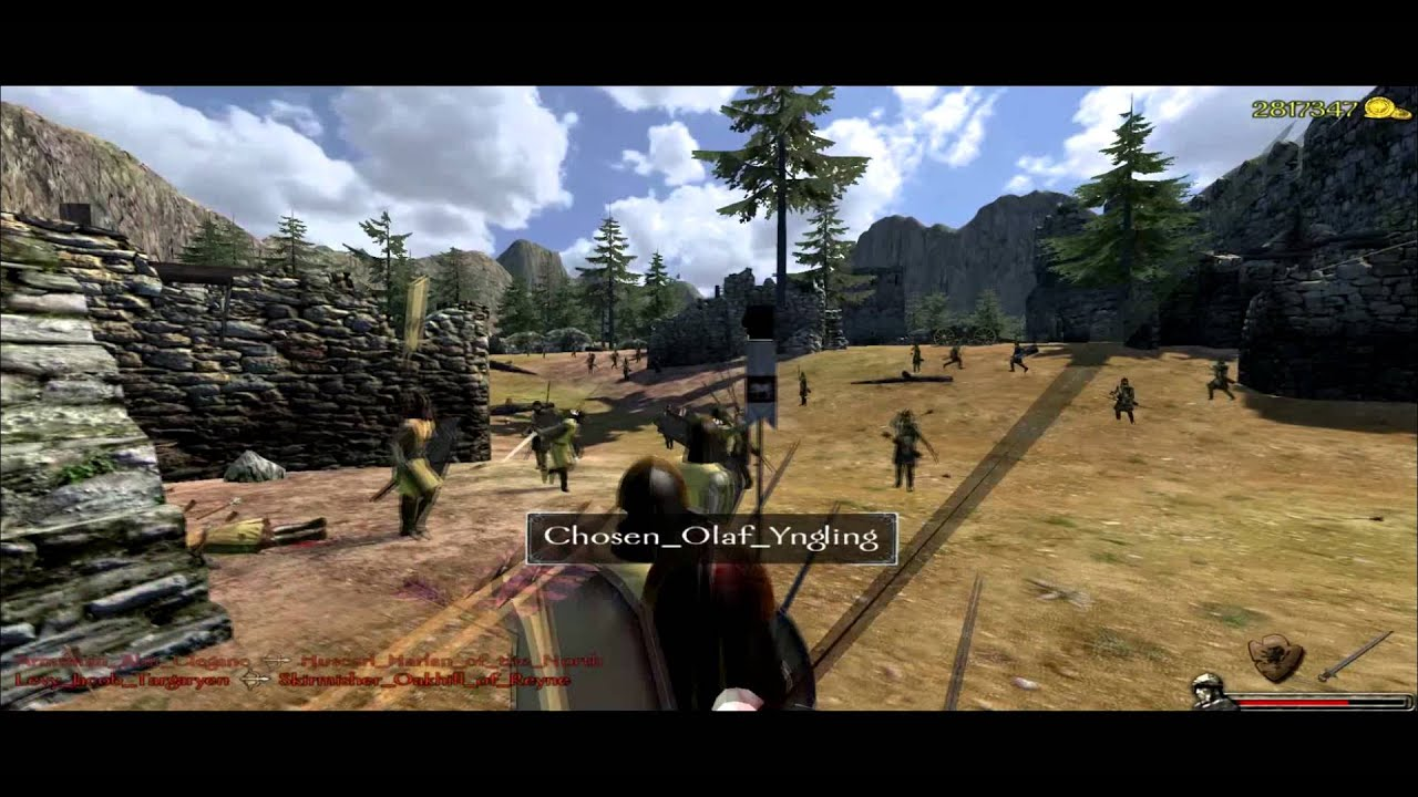 mount and blade how to join a seige
