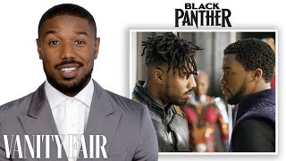 Michael B. Jordan Breaks Down His Career from 'The Wire' to 'Black Panther' | Vanity Fair