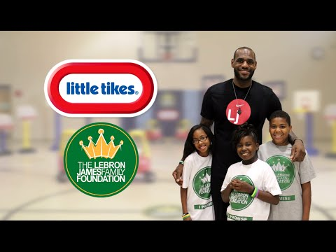 Little Tikes | LeBron James Family Foundation Dream Big Basketball Hoops