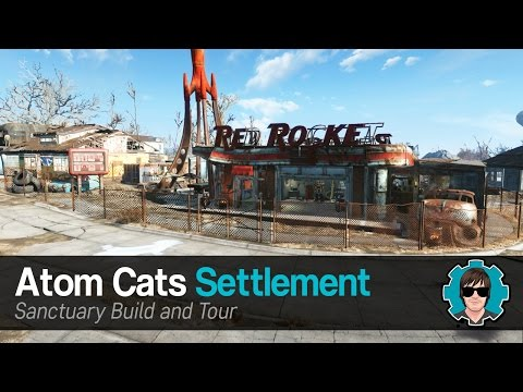 Fallout 4: Sanctuary - Atom Cats Settlement