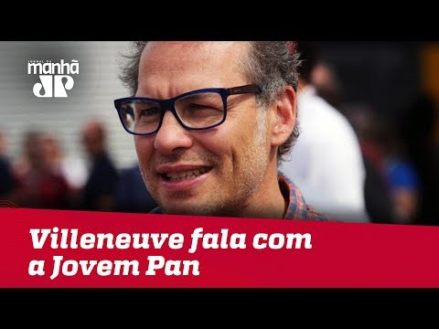 Máquinas Na Pan: Villeneuve Fala Com Exclusividade à Jovem Pan