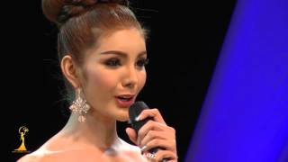 Miss perfect angel 2015 ตอบคำถาม  3 คนสุดท้าย)