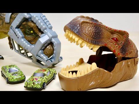 恐竜の口から車が発車! DINOダッシュカー