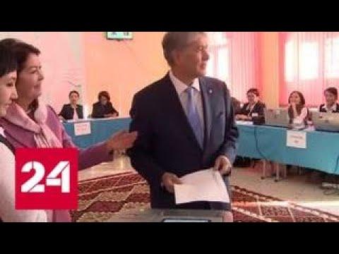 На выборах в Киргизии лидирует Сооронбай Жээнбеков - Россия 24