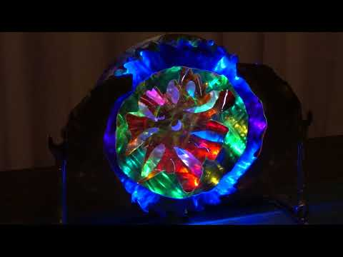 Light Art Sculptures For Lydia Place Auction in Bellingham Washington