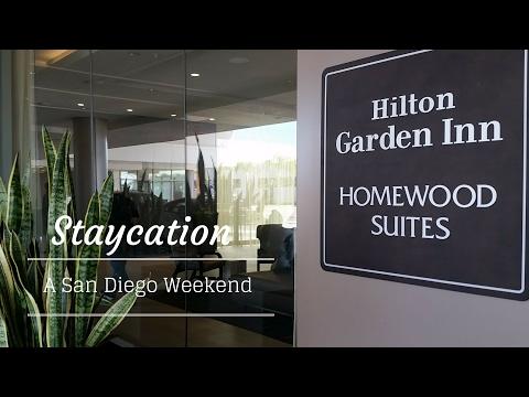 Transformation ! Tour Hilton / Homewood Suites on San Diego's Waterfront