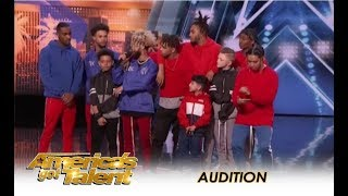 The Future Kingz: Viral Chicago Dance Crew KILL IT! | America's Got Talent 2018