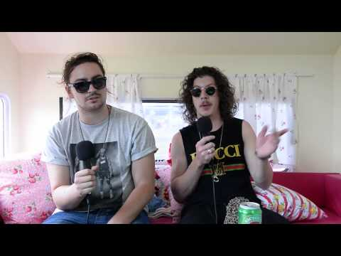Peking Duk Interview at the Big Day Out Melbourne (2014)