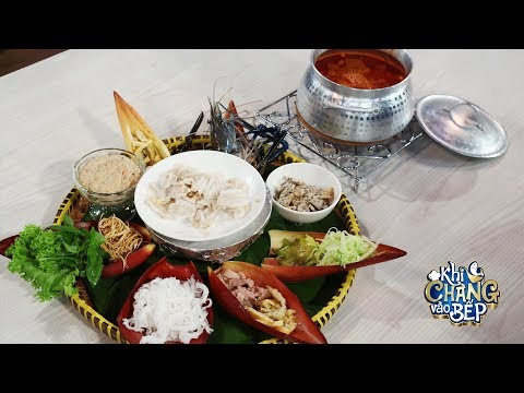 Công thức nấu món Lẩu Thả Phan Thiết của đầu bếp Cẩm Thiên Long | Khi Chàng Vào Bếp - Mùa 2