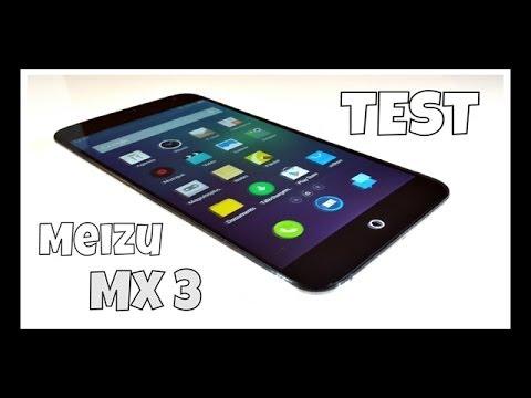 Smartphone Meizu MX3 - test et prise en main