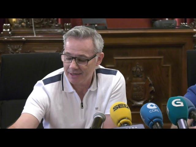 Rueda de Prensa Mario Gonzalez y Gonzalo Jácome 29-8-2019