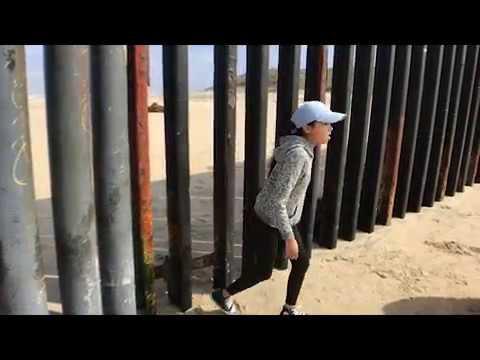Cruza la frontera de Tijuana como si nada