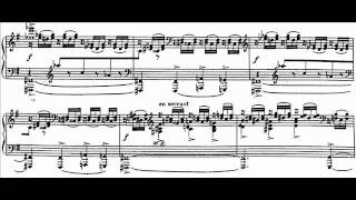 Hamelin plays Dukas - Piano Sonata (1st mvt) Audio + Sheet music