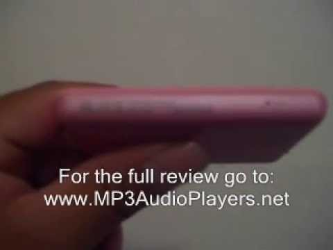 Creative Zen Pink MP3 Player Review