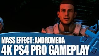 Mass Effect: Andromeda 4K PlayStation 4 Pro Gameplay - Who is Ryder?