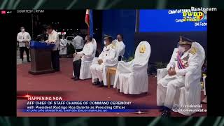 WATCH: AFP Change of Command Ceremony | crsafp