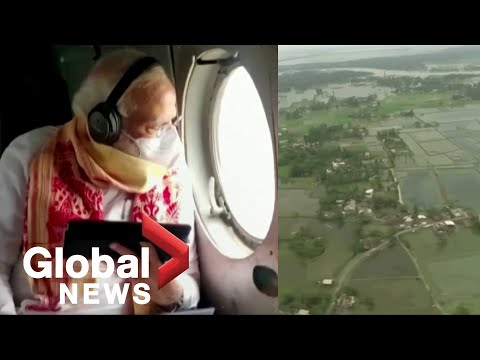Cyclone Amphan: Indian Prime Minister Modi visits hard-hit Kolkata, offers aid