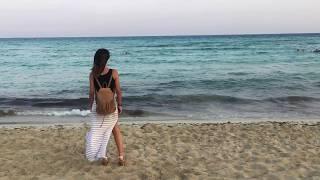 Cyprus Agia-Napa Nisi beach Evening