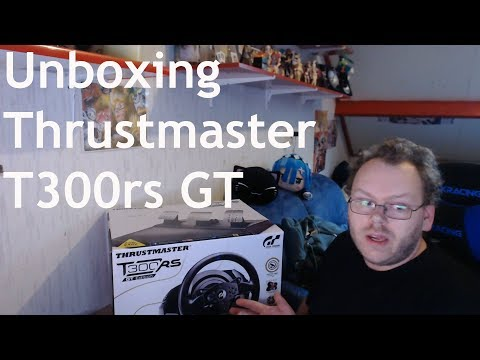Unboxing Van De Thrustmaster T300RS GT Race Stuur