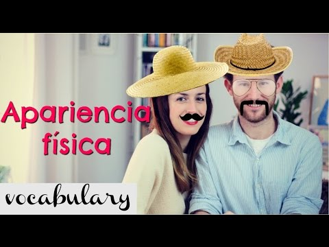 Vocabulario: PHYSICAL APPEARANCE - Clase de inglés - apariencia física