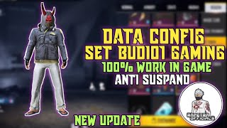 SKIN GRATIS FREE FIRE‼️CONFIG SET BUDI01 GAMING NEW UPDATE,100% WORK IN GAME