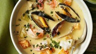 West Coast Seafood Chowder Recipe