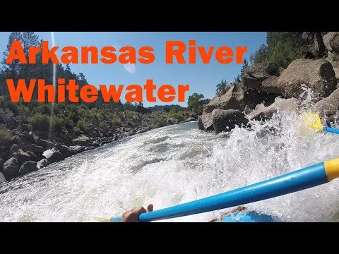 Adventure on the Arkansas River!! Brown's Canyon Whitewater Rafting Trip!