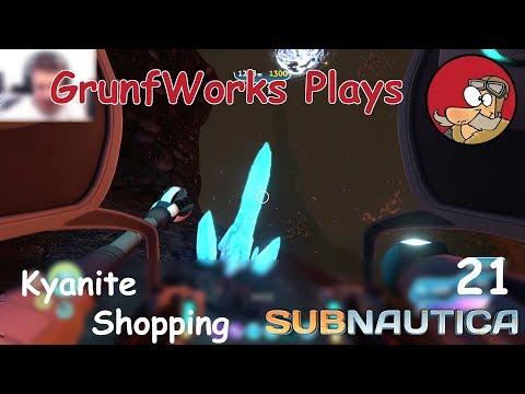 Kyanite Mining | Subnautica Gameplay - ep 21 (Full-Release)