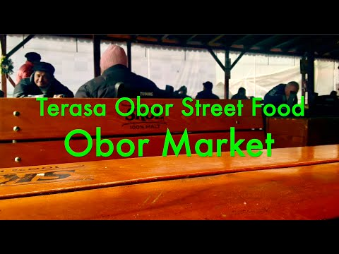 Lunch at Teresa Obor Market in Bucharest