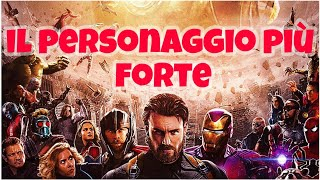 TOP 5 PERSONAGGI PIU' FORTI del MARVEL CINEMATIC UNIVERSE - LIVELLI DI POTENZA MARVEL DOPO ENDGAME