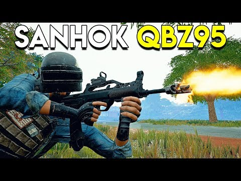 SANHOK QBZ95 Gameplay - PUBG (PlayerUnknown's Battlegrounds)