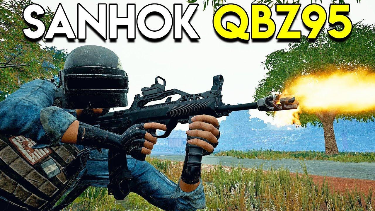 SANHOK QBZ95 Gameplay - PUBG (PlayerUnknown's Battlegrounds) thumbnail