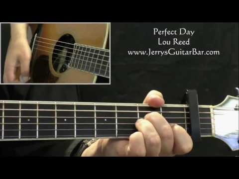 Lou Reed - Perfect Day | Guitar Lesson, Tab & Chords