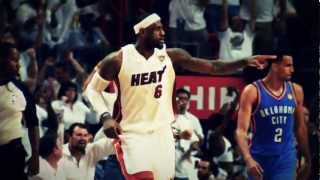 Lebron James - Victory Lap feat. Macklemore ( 2012 NBA Playoffs Highlights)
