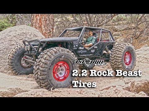 Pit Bull RC - Alien 2.2 Rock Beast II Tires - Rock Crawling