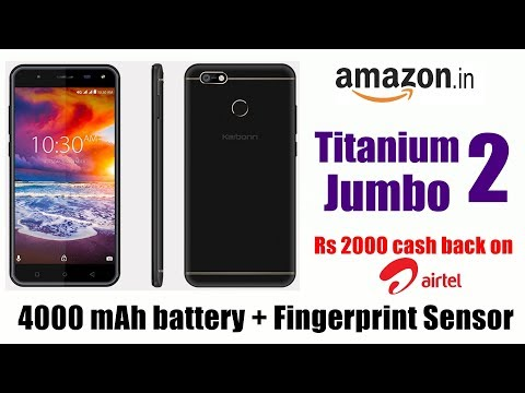 Karbonn titanium Jumbo 2 with 4000 battery and 2000 cashback launched