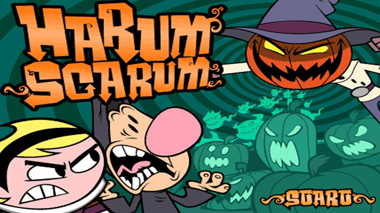 Harum Scarum! | The Grim Adventures of Billy and Mandy | Cartoon ...