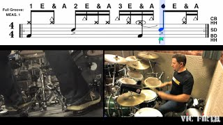 """Drumset Lessons with Jay Fenichel: """"Hot In Herre"""" by Nelly"""