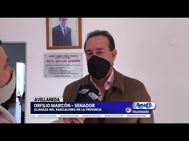 ORFILIO MARCÓN - SENADOR