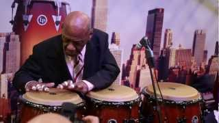 Candido Camero's Conga Solo at The NAMM Show (2013)