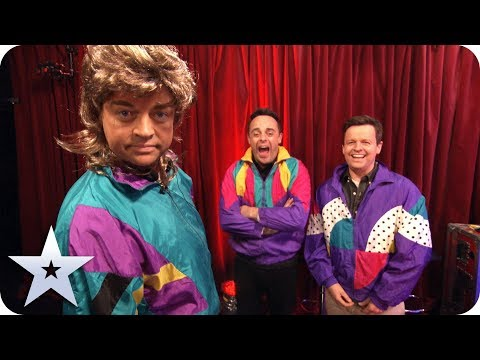 The BEST of Ant & Dec on BGMT!   Britain's Got More Talent