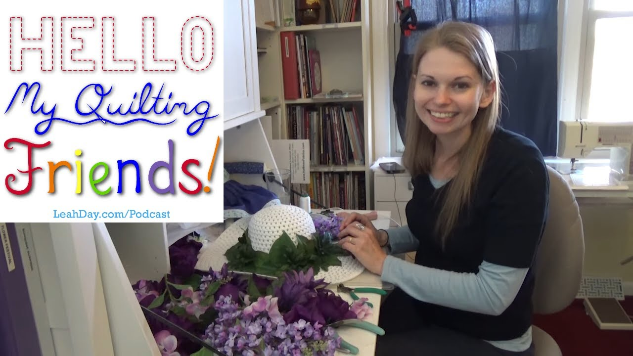 Celebrating Episode #100 of the Hello My Quilting Friends Podcast!
