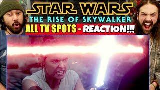 "Star Wars: The Rise Of Skywalker ALL TV SPOTS - REACTION!!! ""Duel, Forever, End, etc..."""