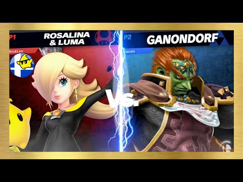 NickLeo (Rosalina) Vs Vanon (Ganondorf) - Smashing Barrels 4th Brew
