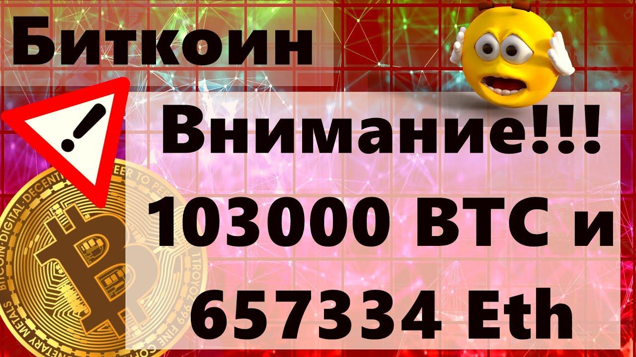 Download Биткоин Внимание!!! 103000 BTC и 657334 Eth очень сильные движения!!! $326897 за биткоин ?