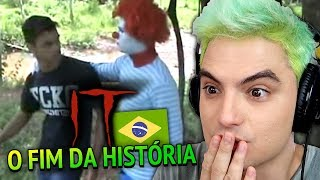 """O FIM DE """"IT - A COISA"""" em VERSÃO BRASILEIRA!"""