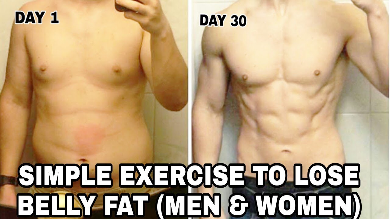 Exercises to Lose Belly Fat in 12 Month (Men & Women) - HOME